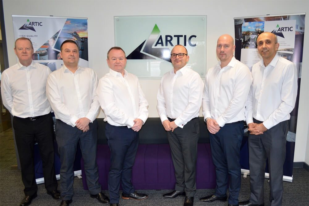 The Artic Senior Team