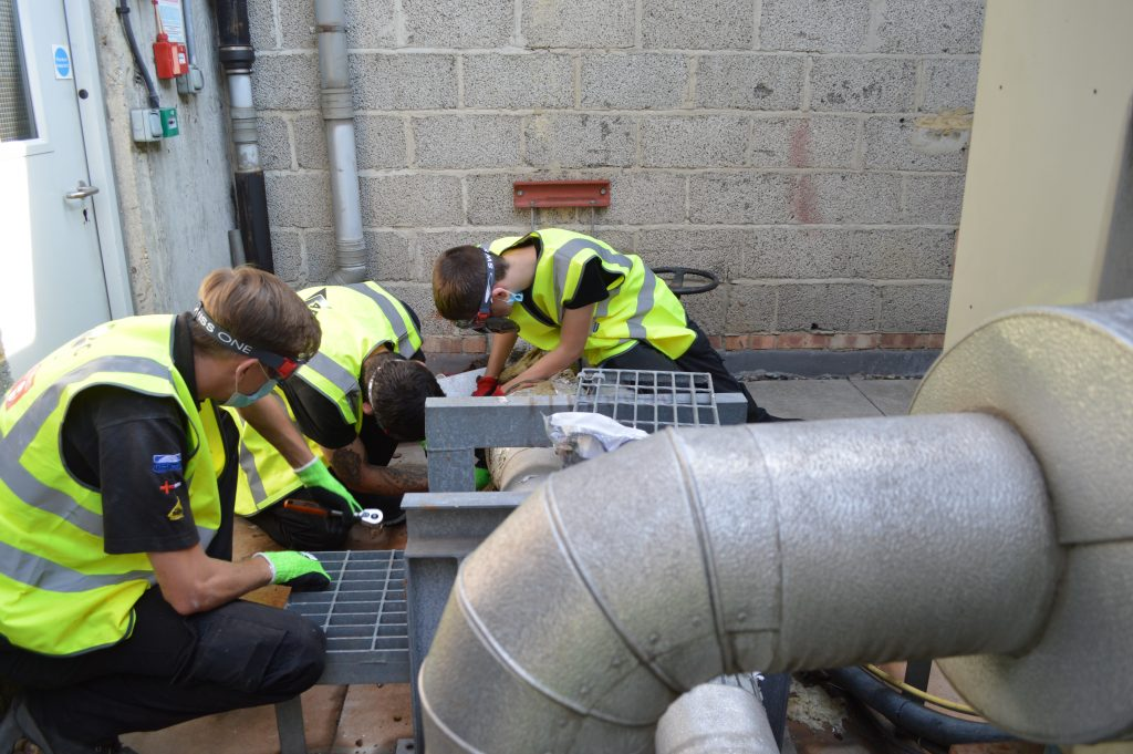 planned preventative maintenance artic engineers working