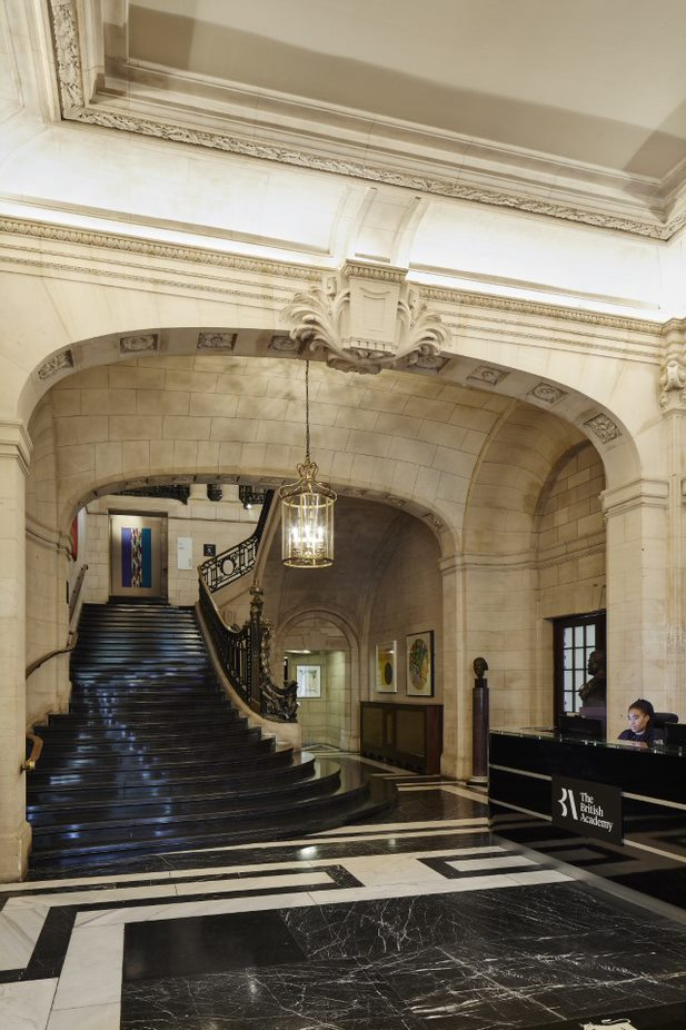 The British academy staircase